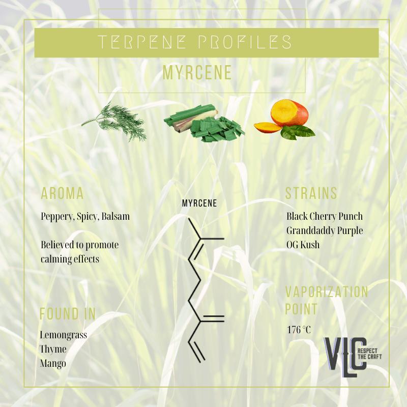 Myrcene - Vigr Life Cannabis